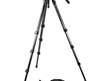 Rent: Manfrotto 504HD with 536 Carbon Fiber Legs