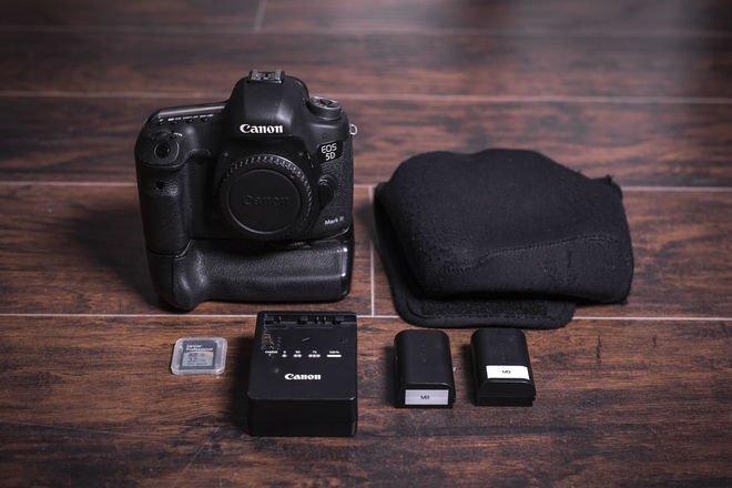 Canon 5D Mark III Camera Kit - Battery Grip + More