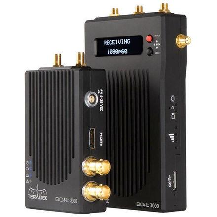 Teradek Bolt 3000 (3-Rx / 1-Tx) Wireless Video Package (4)
