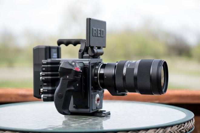 RED Scarlet-W Dragon 5K + sigma 18-35mm f1.8
