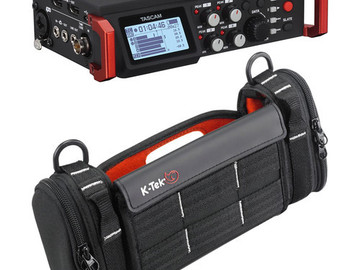 Rent: Tascam DR-701D 6-Track Field Recorder for DSLR & Bag Kit