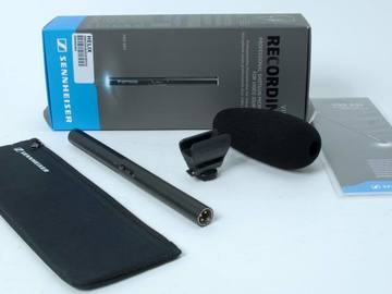 Rent: Sennheiser MKE 600 - Shotgun Microphone