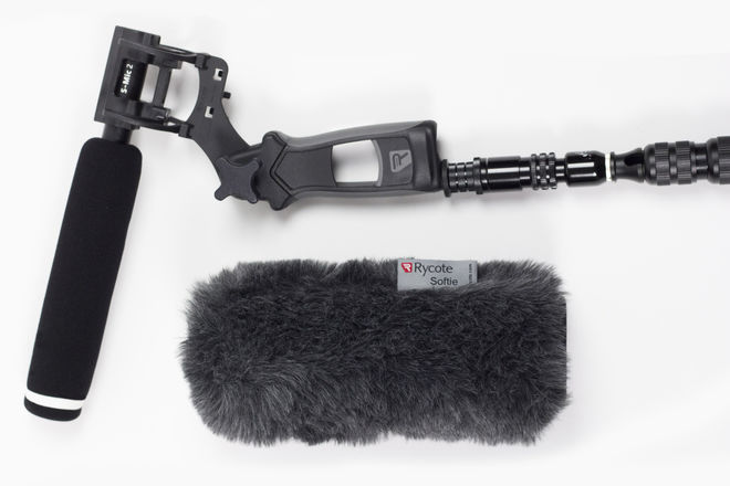 Diety S-Mic 2 with Carbon Boom Pole