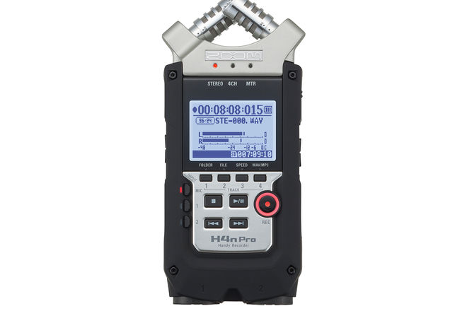 Zoom H4n Pro 4-Channel Kit w/ Remote, Windscreen & Case