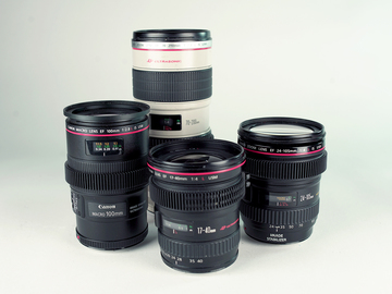 Rent: Canon L Series Zooms + 100mm Macro