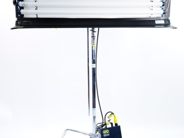 Rent: Kino Flo 4Bank 4' Fluorescent One Light System (4')