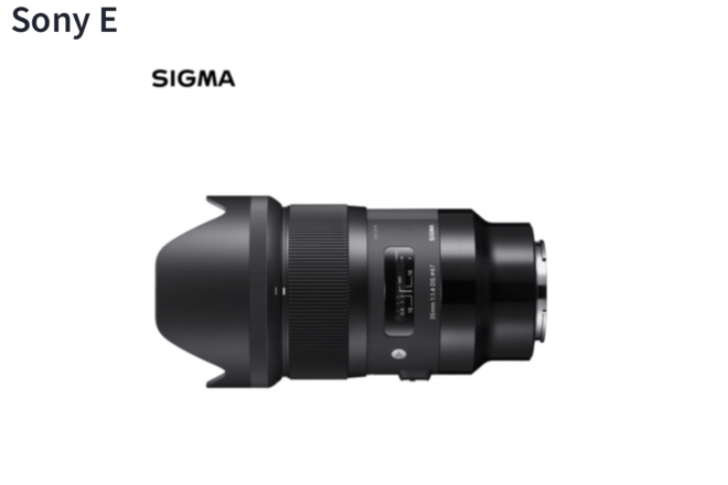 Sony Alpha a7R II PLUS Sigma Art 35mm Emount