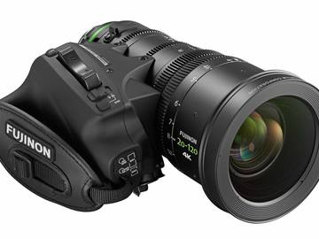 Rent: Fujinon Cabrio 20-120mm t3.5 + Schneider Wide Angle Adapter
