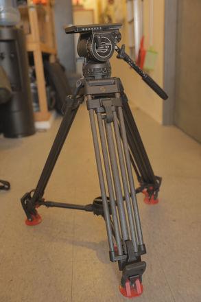 Sachtler Video 18 III Tripod with Carbon Fiber Legs