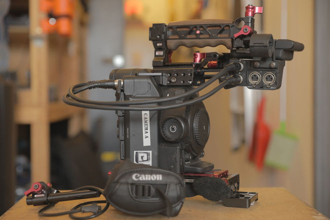 Canon EOS C300 Mark II with Shoulder Mount