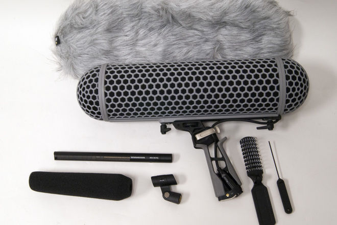 Sennheiser MKH 416 Shotgun Mic w/Blimp & Dead Wombat