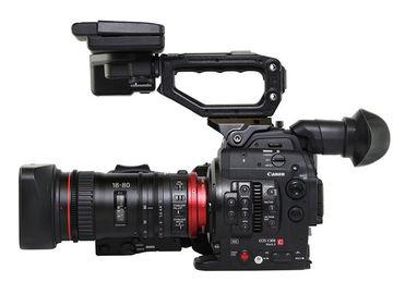 Rent: Canon C300 Mark II w/ 18-80mm Servo Zoom