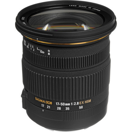 Sigma 17-50mm f/2.8 EX DC OS HSM Zoom Lens for Canon EF