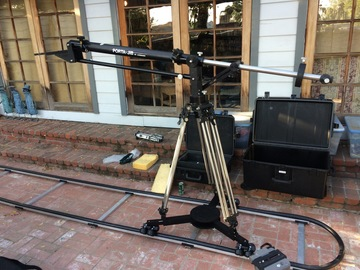 Rent: Losmandy Porta-Jib (holds up to 100lbs) w/track