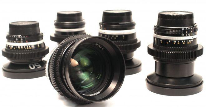 Nikon  AIS Cinema Modded Lens Kit