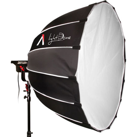 Aputure LS C120d with Lightdome