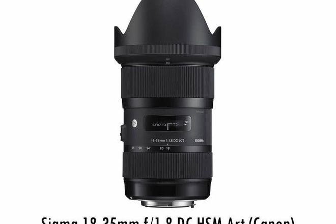 Sigma 18-35mm f/1.8 DC HSM Art