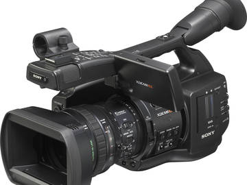Rent: SONY PMW-EX1 XDCAM + Tripod Package