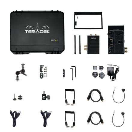 Bolt 500 XT 1:3 Kit (Gold Mount) 1 XT RXs and 2 LT HDMI RXs
