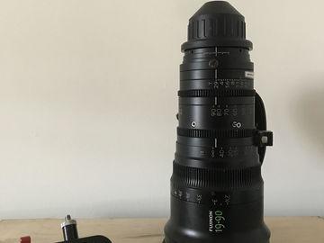 Rent: Fujinon 19-90mm T2.9 Cabrio Zoom