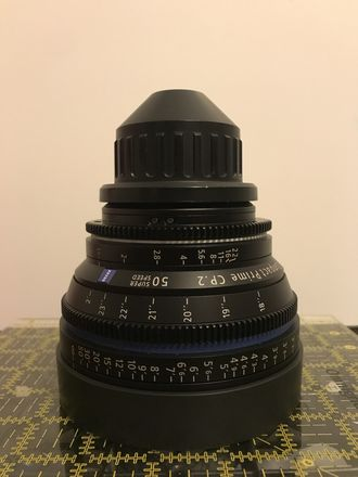Zeiss Compact Prime CP.2 50mm T1.5 Super Speed