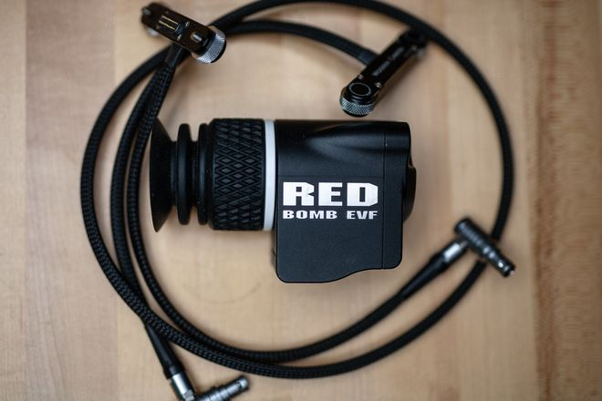 Red Bomb EVF & Cable Kit for DSMC2 Cameras