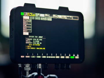 Rent: Odyssey 7Q+ RAW Package w/ Batteries, 1TB Media, Arm