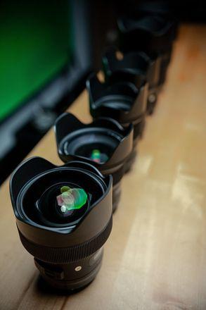 6 Lens Sigma Art Prime Kit Canon EF 14, 24, 35, 50, 85, 135
