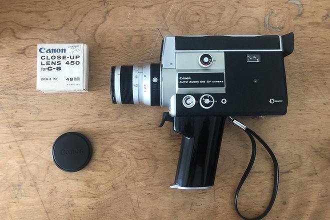 Canon 518 SV Super 8 Camera