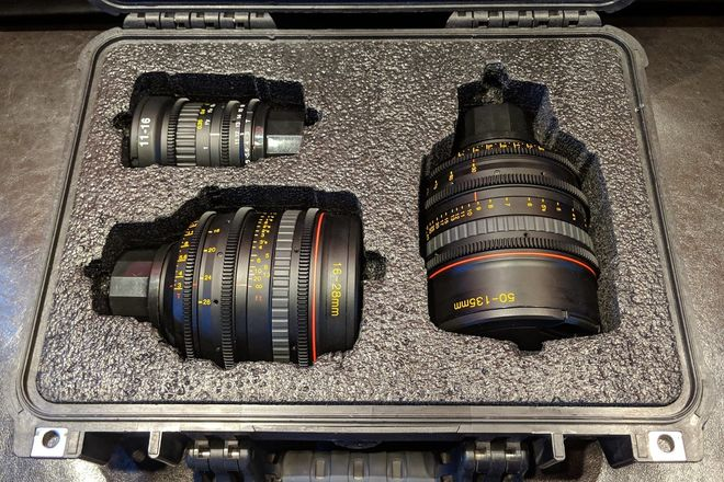Tokina Cinema ATX Zoom Lens Set (PL Mount)