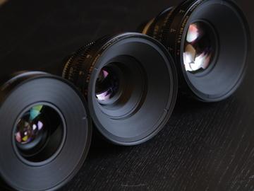 Rent: Zeiss cp2 Superspeeds (4 lens set)
