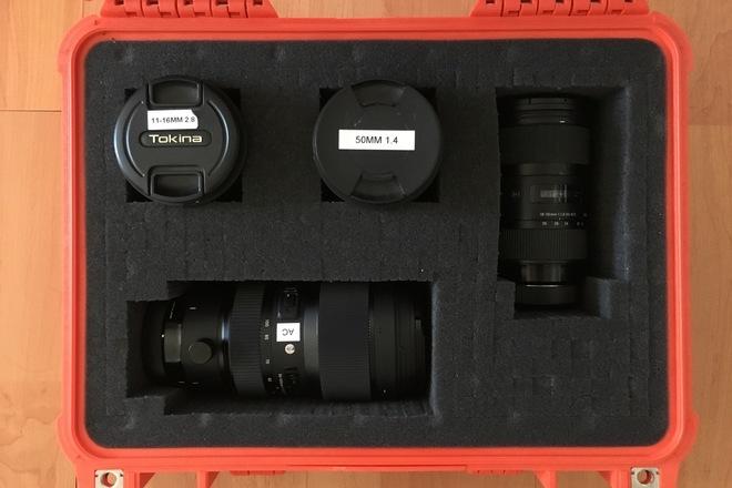 Sigma Art Zoom 4 lens kit - 11mm-100mm w/ filters
