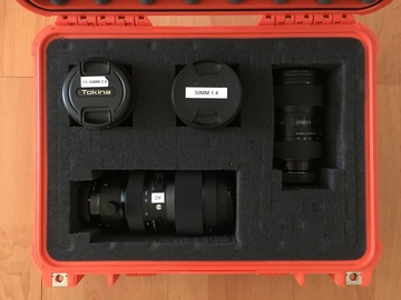 Rent: Sigma Art Zoom 4 lens kit - 11mm-100mm w/ filters