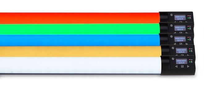 4x 2ft X - Crossfade & 1x 4ft Q-LED Rainbow RGBX Quasar