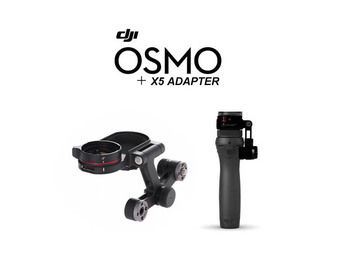 Rent: DJI Osmo Handle + X5 Adapter