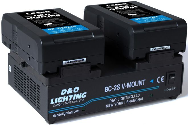 95Wh V-Mount Battery + Dual V-Mount Charger