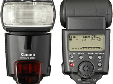 Rent: Canon 580ex ii and 430ex Speedlites w/ Pocketwizards