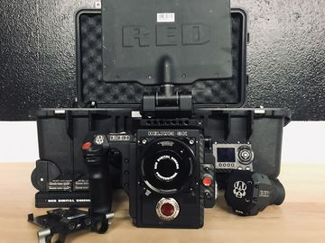 RED Weapon Helium 8K S35 Camera Package (EF or PL)