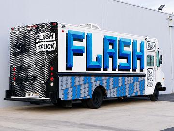 The Flash Truck Mobile Production Studio w/ driver