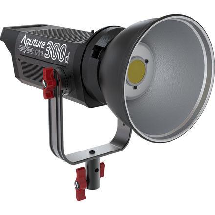 Aputure LS C300d w/ V-Mount, Fresnel Lens, & Light Dome