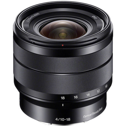 Sony E 10-18mm f/4 OSS Wide Angle APS-C Lens