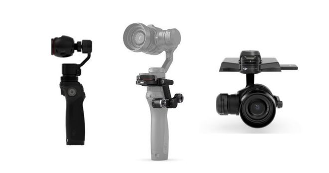 DJI Osmo Pro Raw Kit ( RAW 4K ) w/ 4 Lenses + 1.5TB Media
