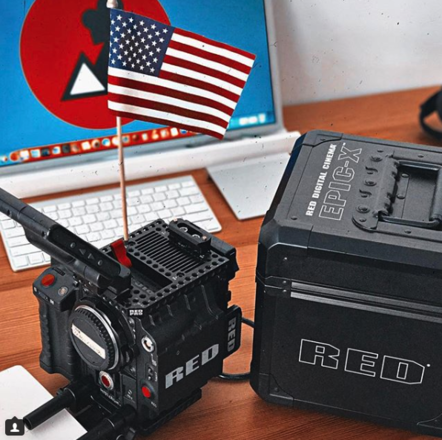 RED EPIC MX  package with tripod