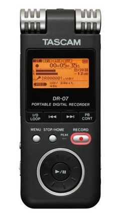 Tascam DR-07 digital recorder