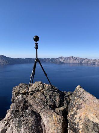 8K VR Insta360 Pro w/ Ambiosonic Microphone and Monopod