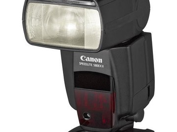 Rent: Canon Speedlite 580EX II