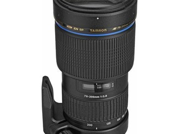 Rent: Tamron 70-200mm f/2.8 Di Sp (IF) Zoom Lens For Canon