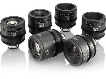 Sony Cinealta Set 6 Prime Lenses 20-135Mm