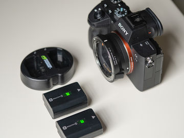 Sony a7 III with Canon EF adapter (with AF)