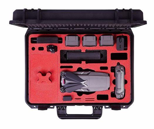 DJI Mavic 2 Pro Hasselblad: 4 batts, 2 micro SD, hard case